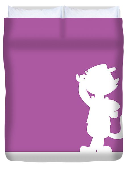 No11 My Minimal Color Code Poster Top Cat Duvet Cover