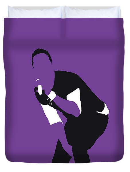 No121 My Coldplay Minimal Music Poster Duvet Cover