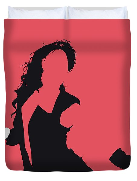 No122 My Beyonce Minimal Music Poster Duvet Cover