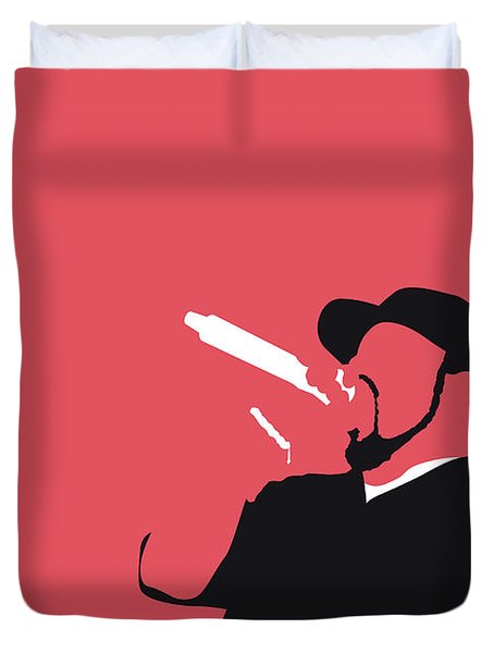 No132 My Ice Cube Minimal Music Poster Duvet Cover