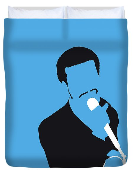 No139 My Kurtis Blow Minimal Music Poster Duvet Cover