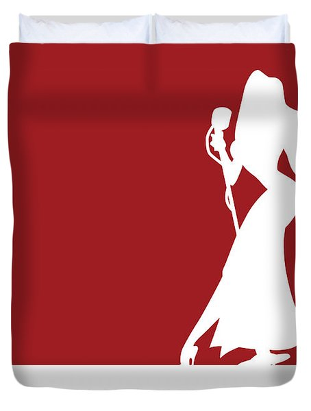 No14 My Minimal Color Code Poster Jessica Rabbit Duvet Cover