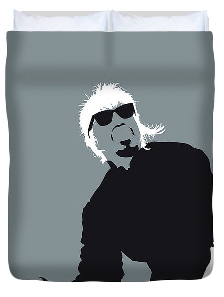 No167 My Outkast Minimal Music Poster Duvet Cover