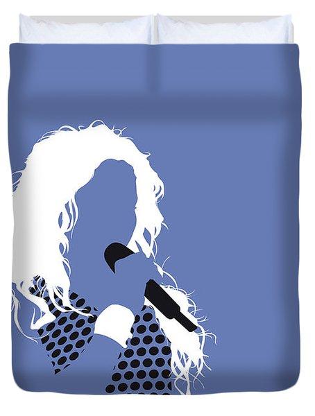 No168 My Shakira Minimal Music Poster Duvet Cover