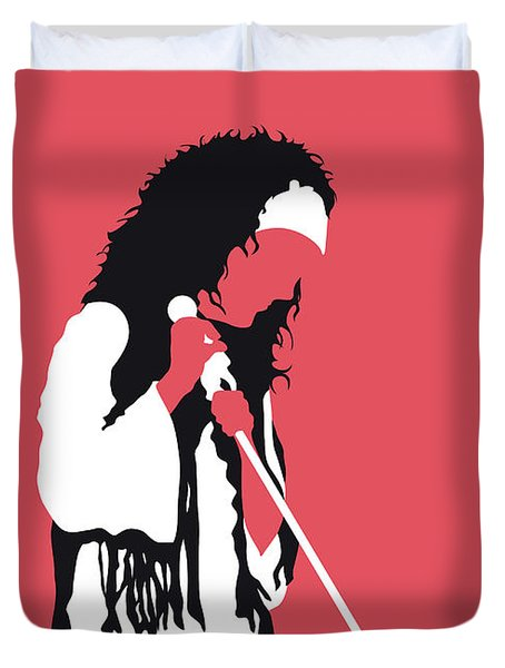 No172 My Jefferson Airplane Minimal Music Poster Duvet Cover