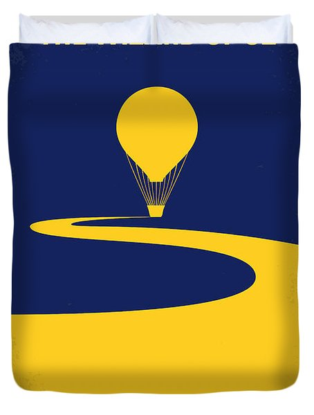 No177 My Wizard Of Oz Minimal Movie Poster Duvet Cover