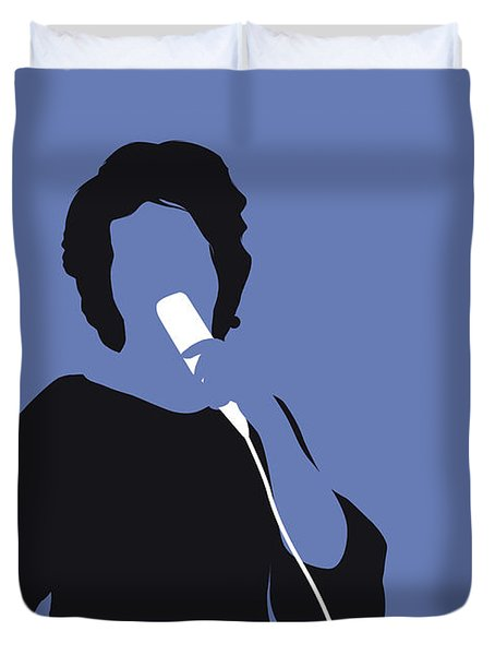 No188 My Aretha Franklin Minimal Music Poster Duvet Cover