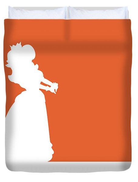 No35 My Minimal Color Code Poster Princess Daisy Duvet Cover