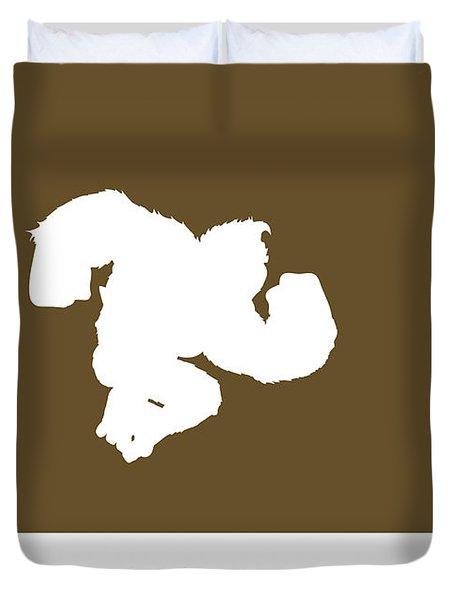 No37 My Minimal Color Code Poster Donkey Kong Duvet Cover