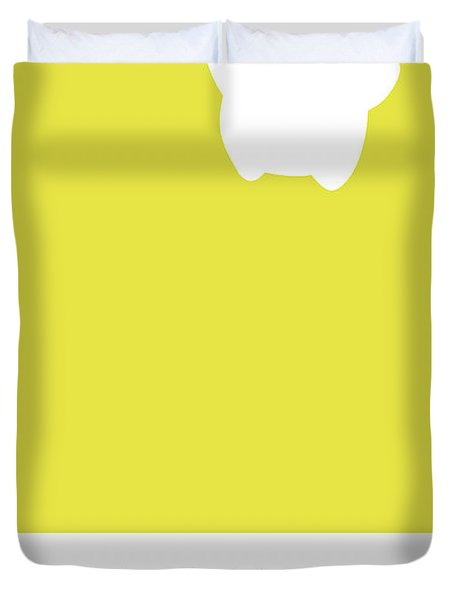 No40 My Minimal Color Code Poster Luma Duvet Cover