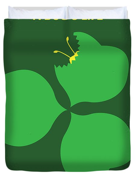 No401 My A Bugs Life Minimal Movie Poster Duvet Cover by Chungkong Art