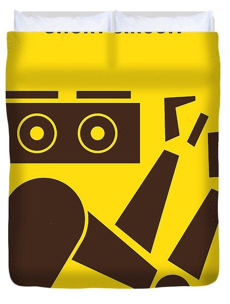 No470 My Short Circuit Minimal Movie Poster Duvet Cover