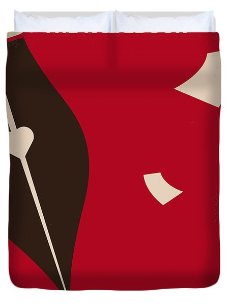 No440 My The Notebook Minimal Movie Poster Duvet Cover