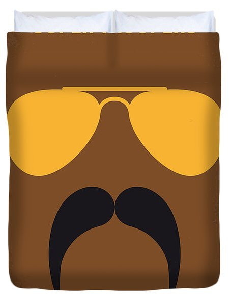 No459 My Super Troopers Minimal Movie Poster Duvet Cover