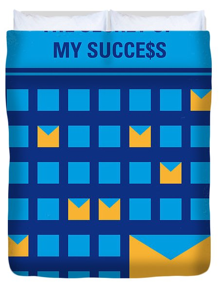 No464 My The Secret Succes Minimal Movie Poster Duvet Cover