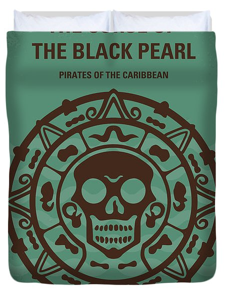 No494-1 My Pirates Of The Caribbean I Minimal Movie Poster Duvet Cover
