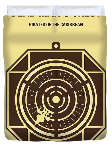 No494-2 My Pirates Of The Caribbean II Minimal Movie Poster Duvet Cover