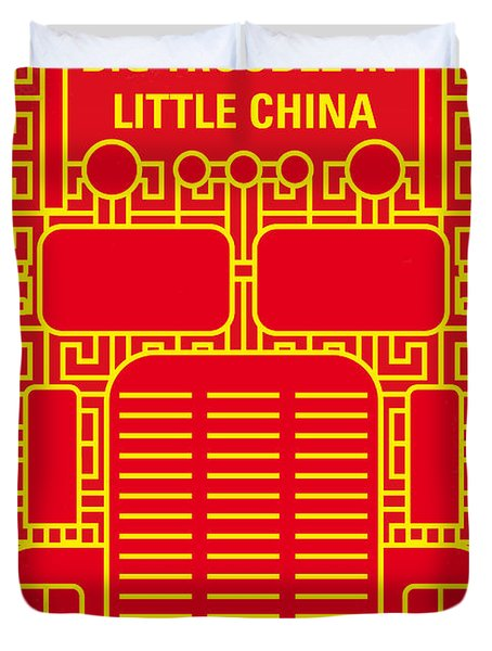 No515 My Big Trouble In Little China Minimal Movie Poster Duvet Cover