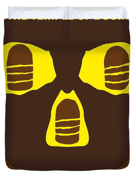 No517 My The Temple Of Doom Minimal Movie Poster Duvet Cover