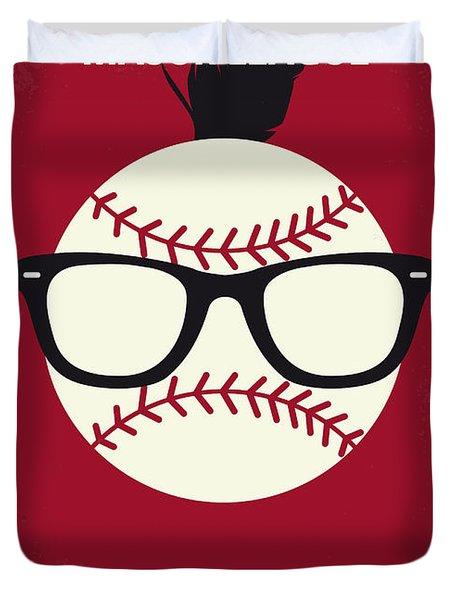 No541 My Major League Minimal Movie Poster Duvet Cover