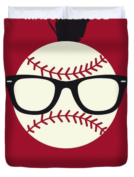 No541 My Major League Minimal Movie Poster Duvet Cover