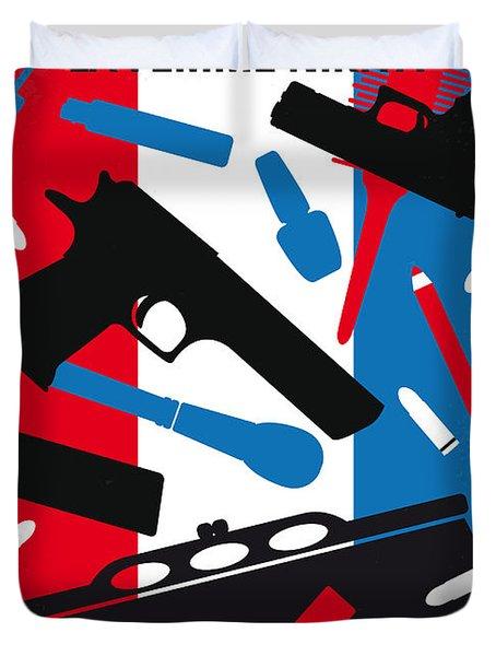 No545 My La Femme Nikita Minimal Movie Poster Duvet Cover