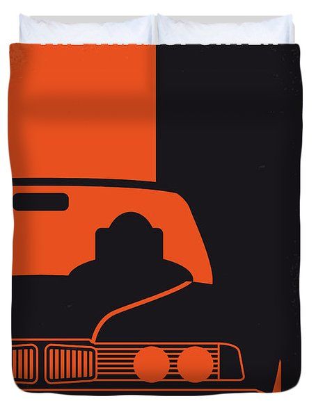 No552 My The Transporter Minimal Movie Poster Duvet Cover