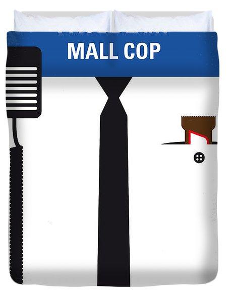 No579 My Paul Blart Mall Cop Minimal Movie Poster Duvet Cover