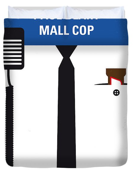 No579 My Paul Blart Mall Cop Minimal Movie Poster Duvet Cover