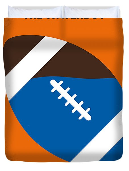 No580 My The Waterboy Minimal Movie Poster Duvet Cover
