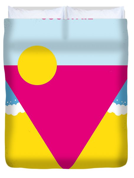 No603 My Cocktail Minimal Movie Poster Duvet Cover