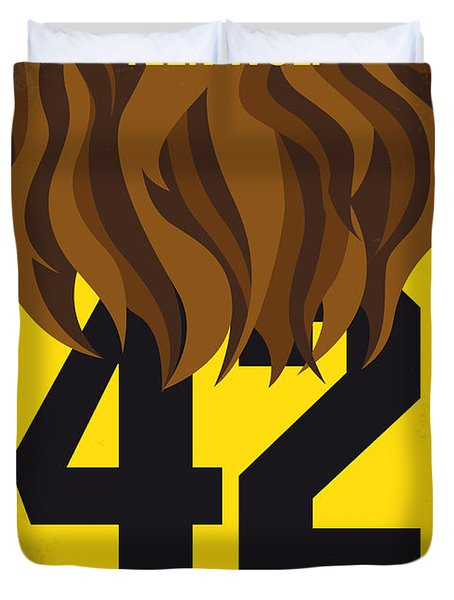 No607 My Teen Wolf Minimal Movie Poster Duvet Cover