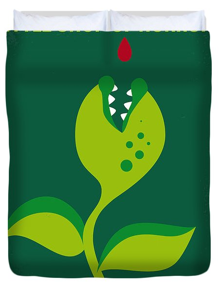 No611 My Little Shop Of Horrors Minimal Movie Poster Duvet Cover