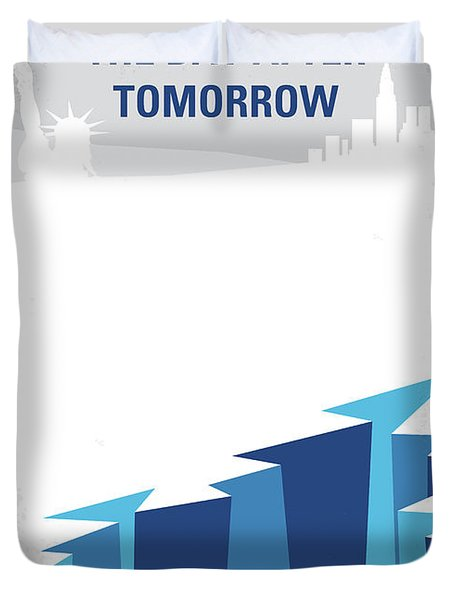No651 My The Day After Tomorrow Minimal Movie Poster Duvet Cover