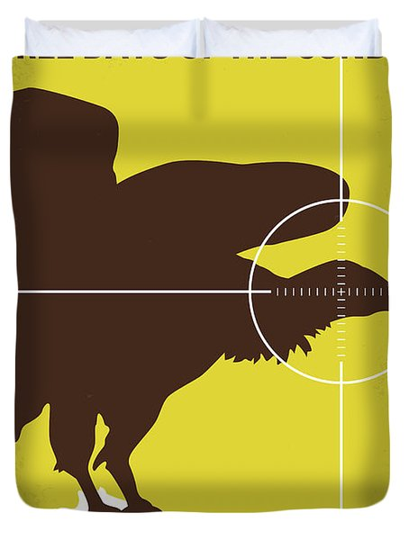 No659 My Three Days Of The Condor Minimal Movie Poster Duvet Cover