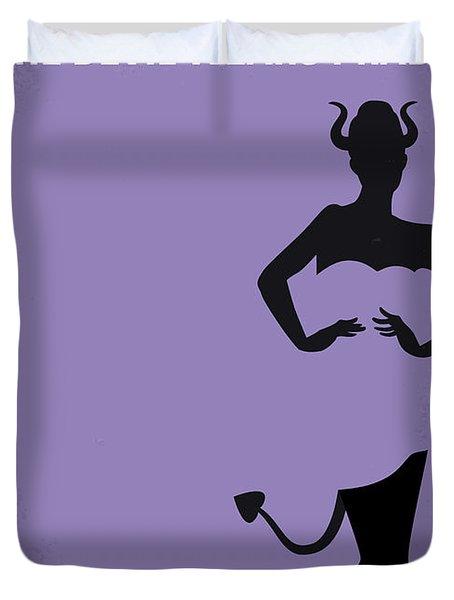 No661 My The Devil Wears Prada Minimal Movie Poster Duvet Cover