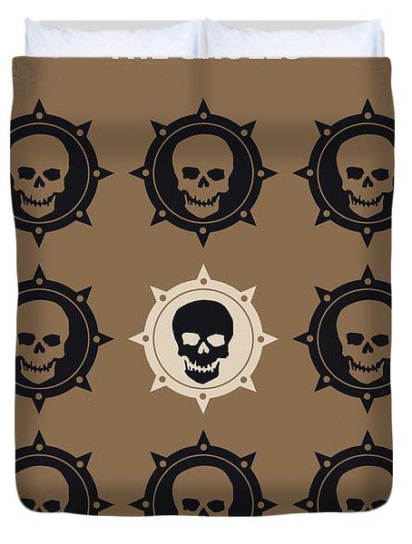 No662 My The Skulls Minimal Movie Poster Duvet Cover