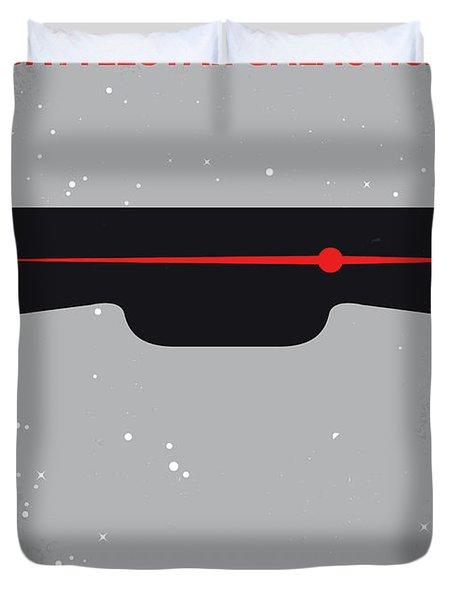 No663 My Battlestar Galactica Minimal Movie Poster Duvet Cover