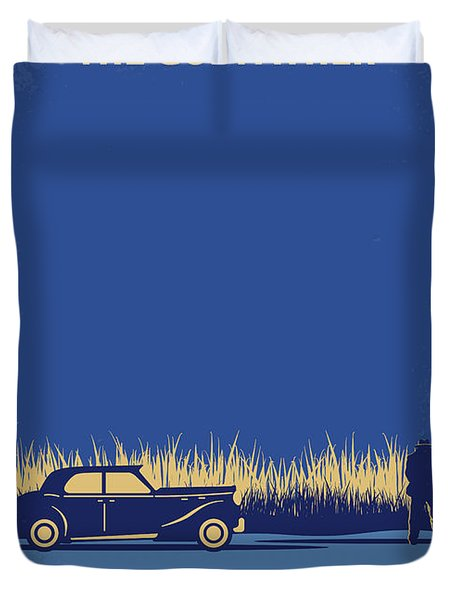 No686-1 My Godfather I Minimal Movie Poster Duvet Cover