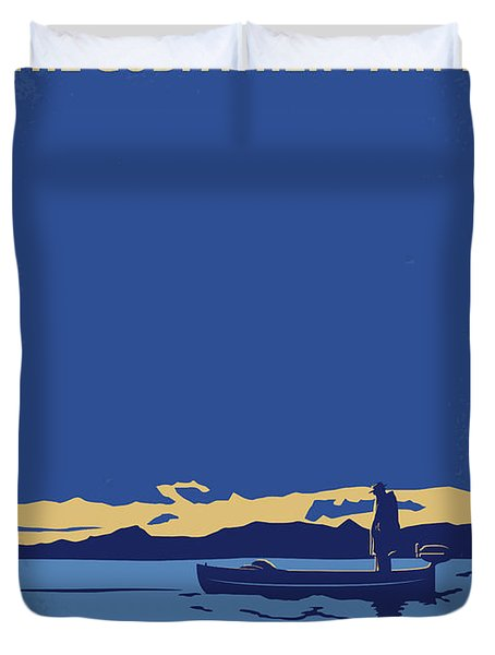 No686-2 My Godfather II Minimal Movie Poster Duvet Cover