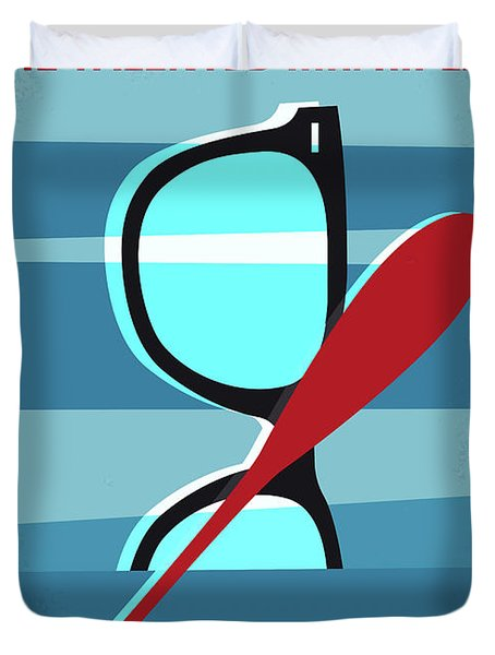 No694 My The Talented Mr Ripley Minimal Movie Poster Duvet Cover