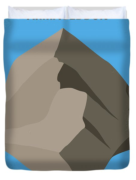 No695 My Armageddon Minimal Movie Poster Duvet Cover