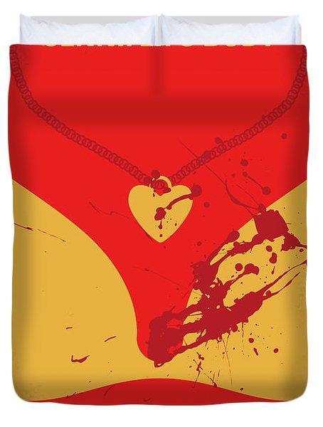 No698 My Jennifers Body Minimal Movie Poster Duvet Cover