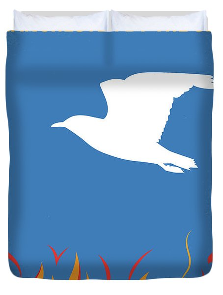 No753 My Manchester By The Sea Minimal Movie Poster Duvet Cover