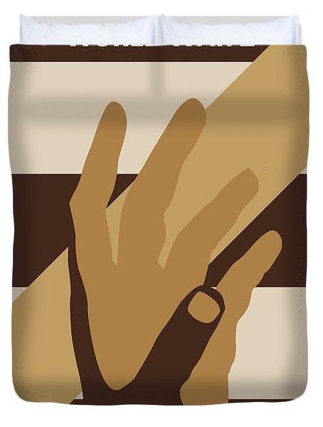 No783 My World War Z Minimal Movie Poster Duvet Cover