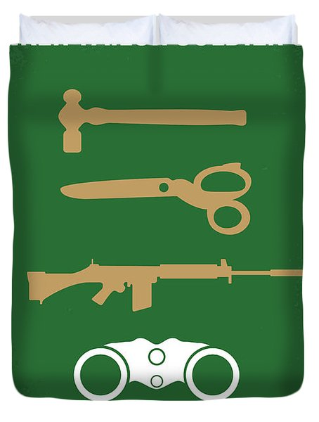 No787 My Tinker Tailor Soldier Spy Minimal Movie Poster Duvet Cover
