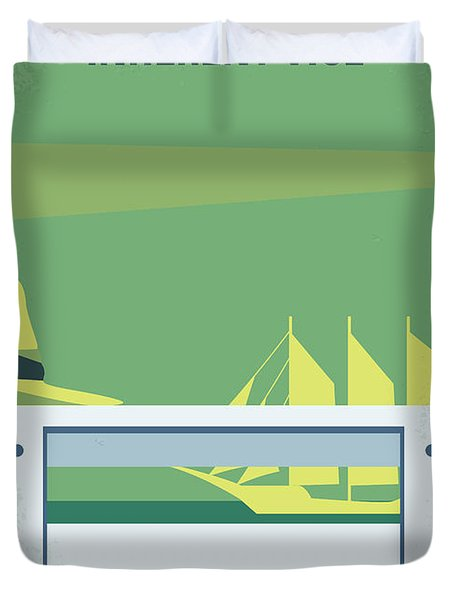No793 My Inherent Vice Minimal Movie Poster Duvet Cover by Chungkong Art