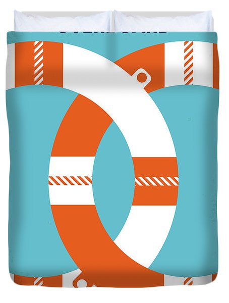 No815 My Overboard Minimal Movie Poster Duvet Cover