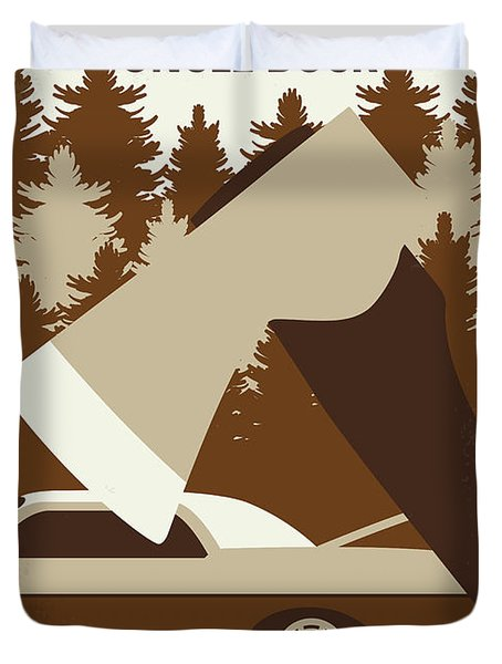No818 My Uncle Buck Minimal Movie Poster Duvet Cover