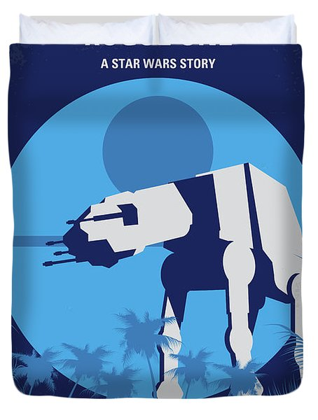 No819 My Rogue One Minimal Movie Poster Duvet Cover